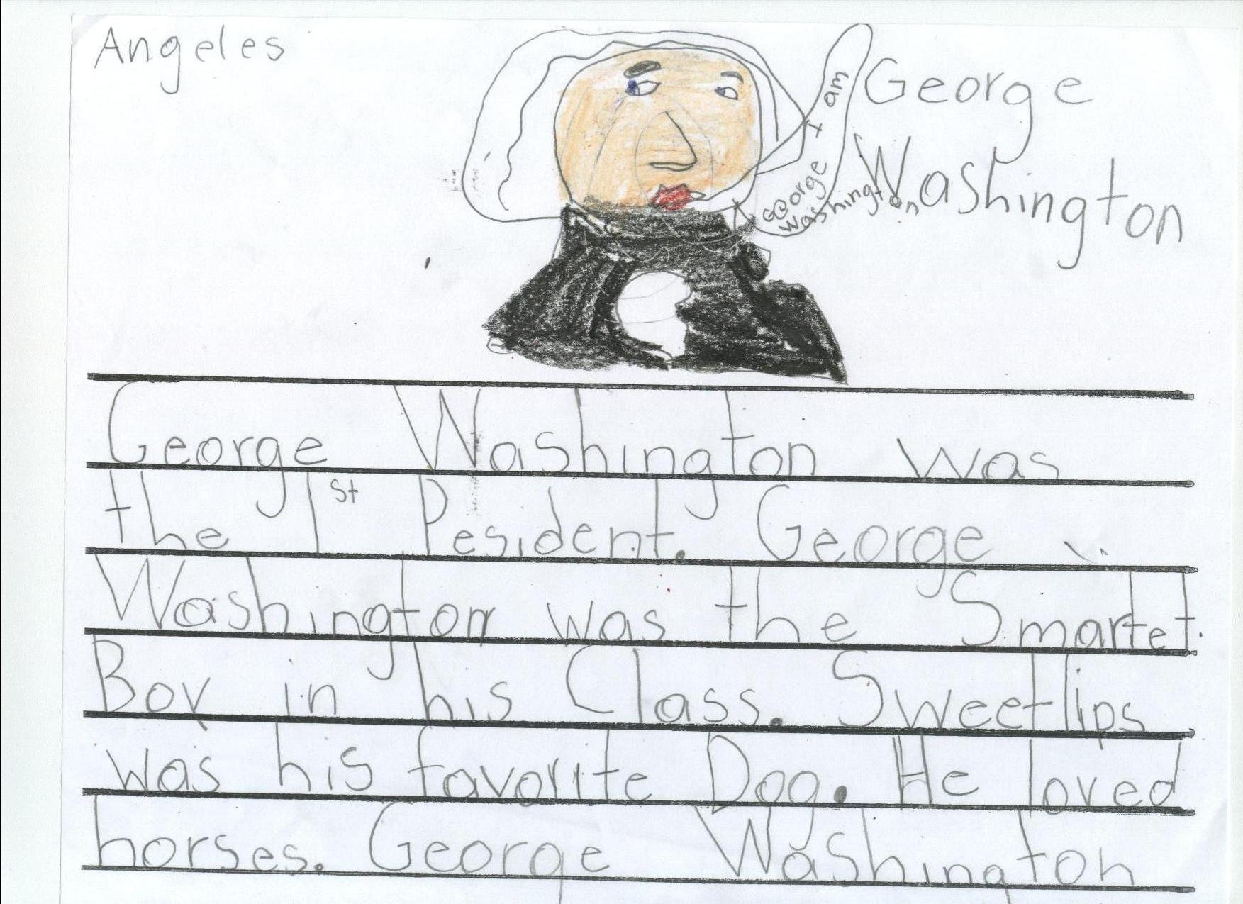 george washington essay example Facts, information and articles about george washington, the first us president george washington facts born 2/22/1732 died.